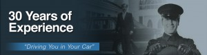 The Private Chauffeur. Our Driver. Your Car. 30 Years of Trusted Experience